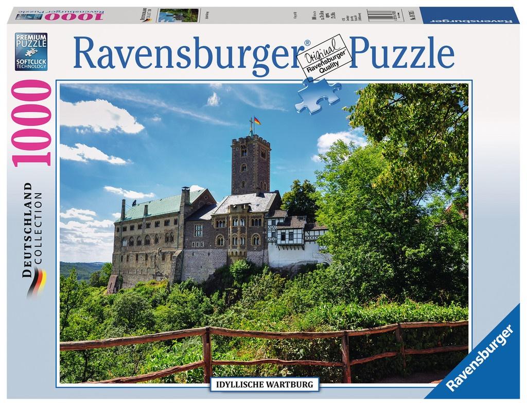Ravensburger Puzzle Idyllische Wartburg 1000 Teile