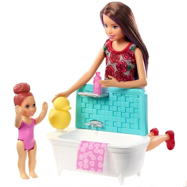 Barbie Skipper Babysitter Puppen Spielset