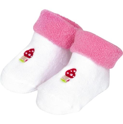 Spiegelburg BabyGlück Babysöckchen rosa one size