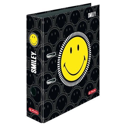 Herlitz Motivordner max.file A4 Smiley Black