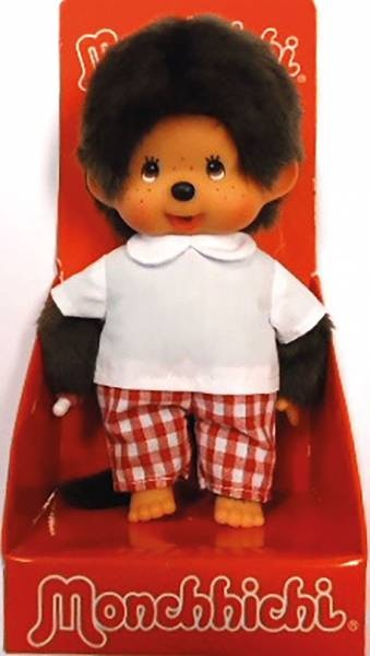 Monchhichi Junge mit Karohose 20 cm