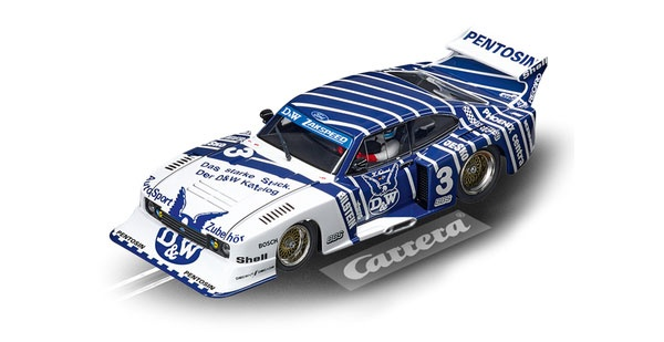 Carrera Digital 132 Ford Capri Zakspeed Turbo D&W 30887