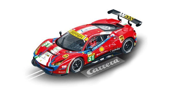 Carrera Digital 132 Ferrari 488 GTE AF Corse No. 51 30848