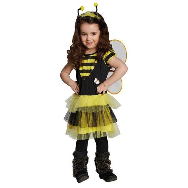 Kostüm Bienchen schwarz-gelb 104