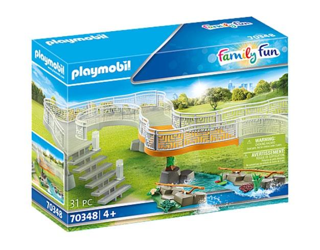 Playmobil 70348 Family Fun Erweiterungsset Erlebnis-Zoo
