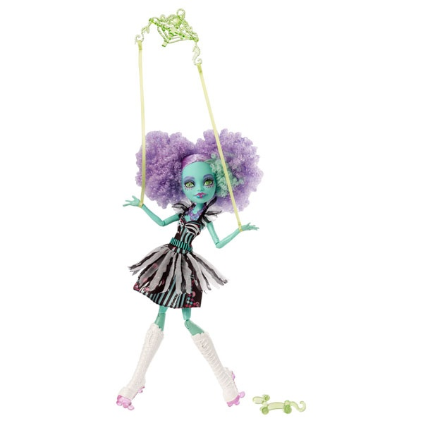 Monster High Puppe Honey Swamp