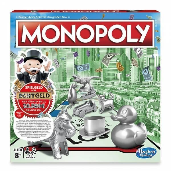 Monopoly Classic Sonderedition Echtgeld-Promotion