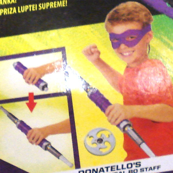 Ninja Turtles Movie II Donatello Rollenspielset