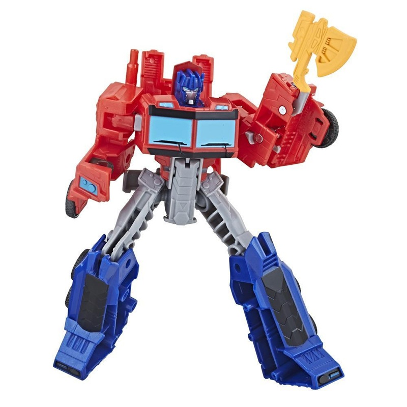 Transformers Cyberverse Figur Optimus Prime