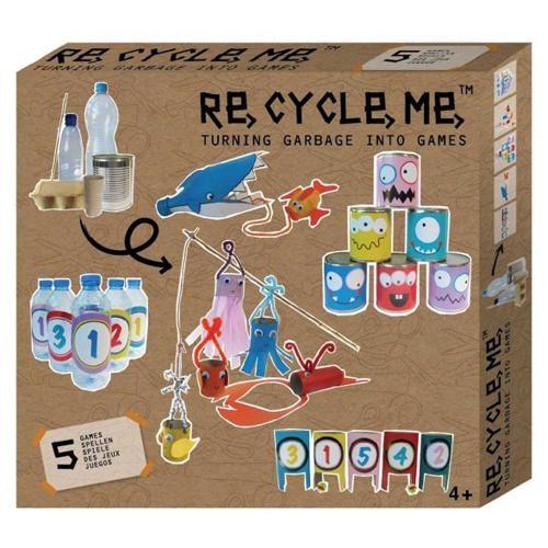 Re-Cycle-Me Bastelbox Deine Spiele
