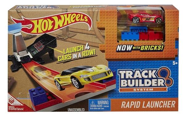 Hot Wheels Track Builder Basisset mit Fahrzeug
