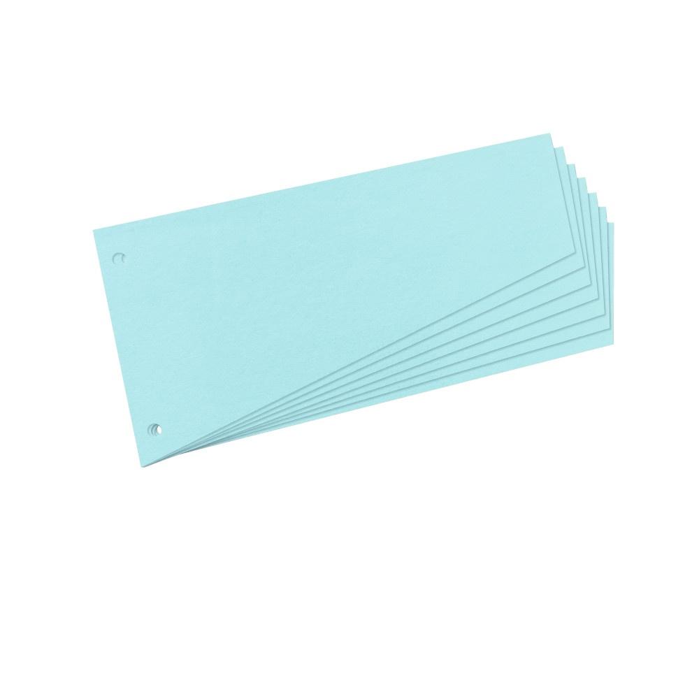 Trennstreifen Trapez blau 100er