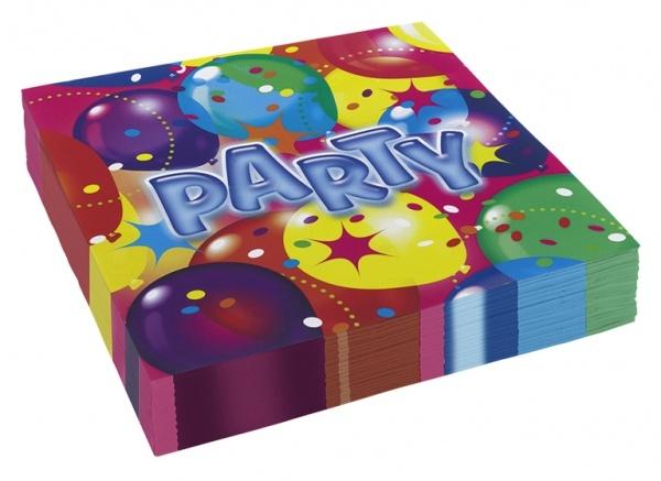 Servietten Ballon Party