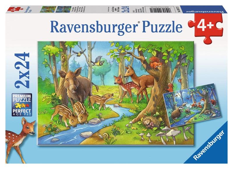 Ravensburger Puzzle Tiere des Waldes