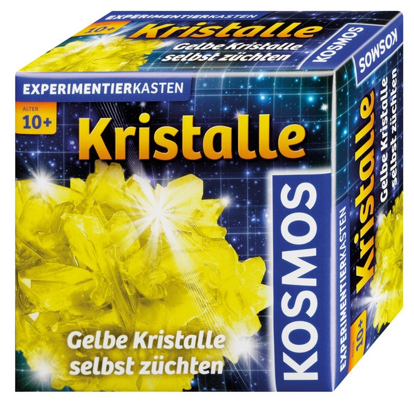 Experimentierkasten Kristalle gelb von Kosmos