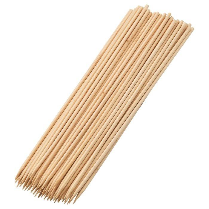 Westmark Schaschlikspieße aus Holz 100 Stückr