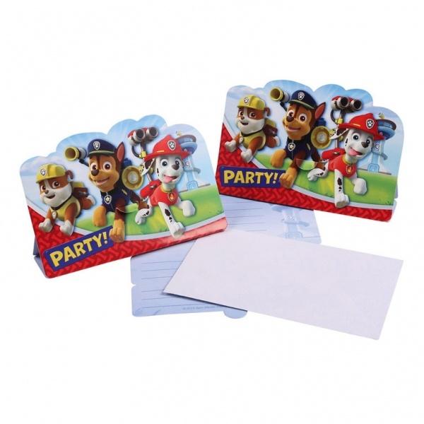 Paw Patrol Einladungskarten