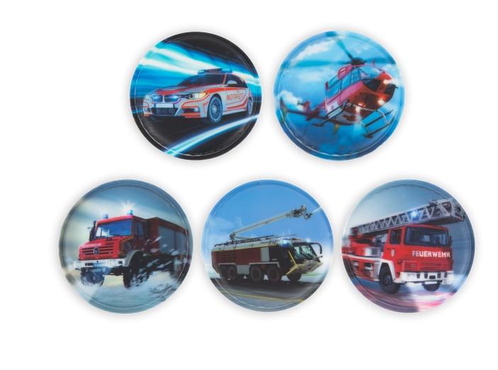 Ergobag Zubehör Klettie-Set Feuerwehr 5 Teile
