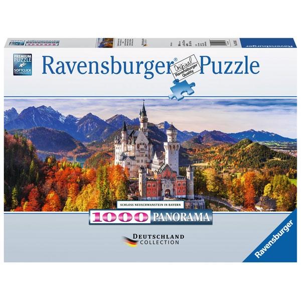 Puzzle Schloss Neuschwanstein in Bayern 1000 Teile