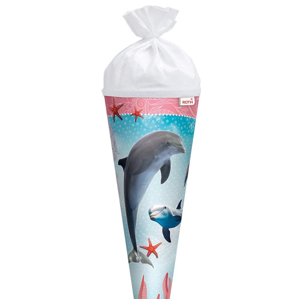 Roth Schultüte Delfin mit Seesternen 70 cm