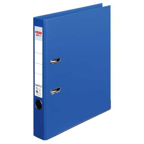 Ordner A4 max.file protect blau 5 cm von Herlitz