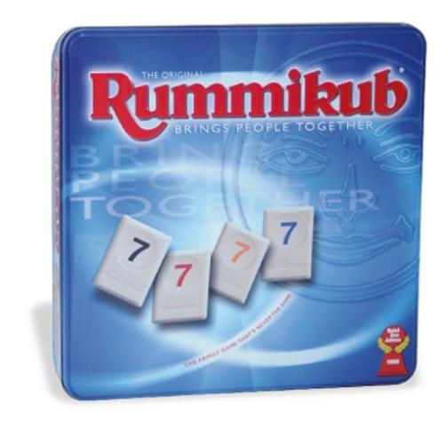 Rummikub Original DeLuxe Metalldose von Jumbo-Spiele