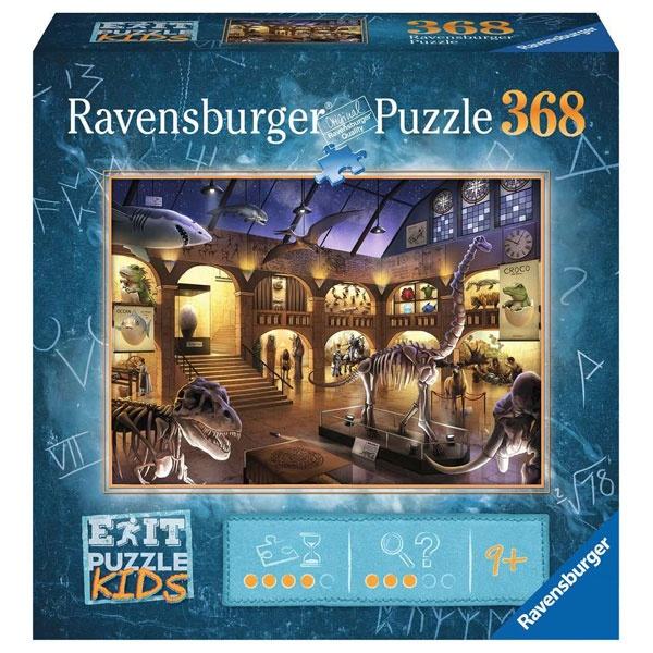 Ravensburger Puzzle Exit Kids Im Naturkundemuseum 368 Teile
