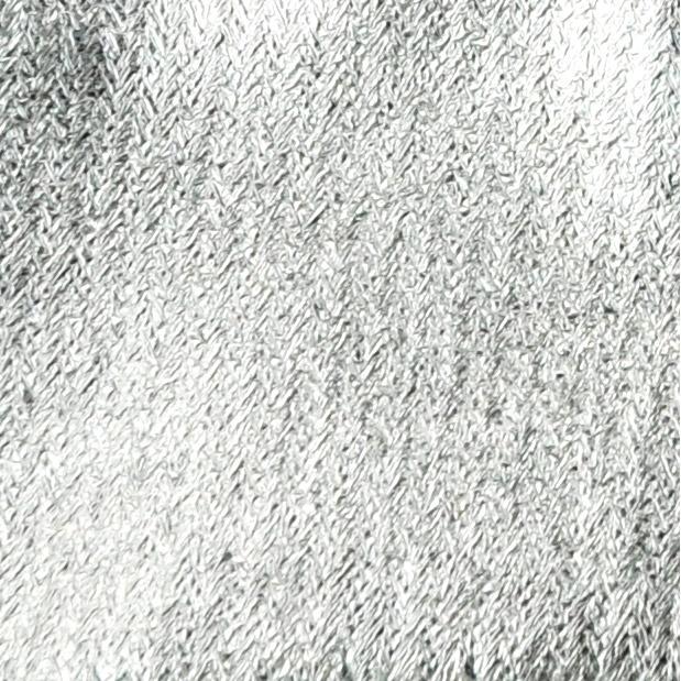 Metallic-Beutel 6 Stück 8 x 10 cm silber