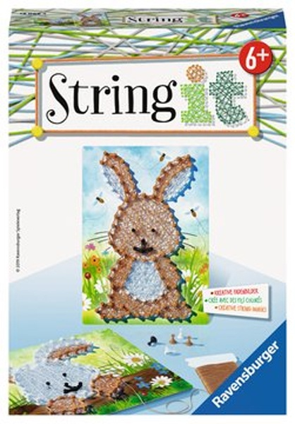 Ravensburger Bastelset String it Mini Rabbit