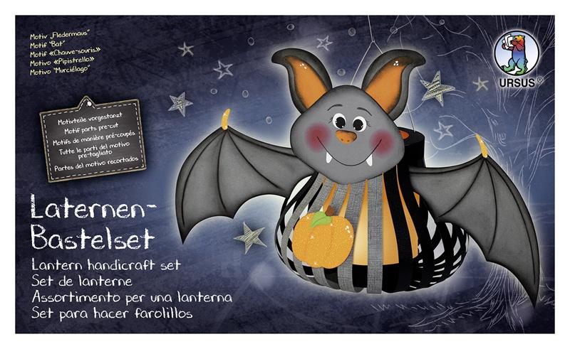 Laternen-Bastelset Fledermaus