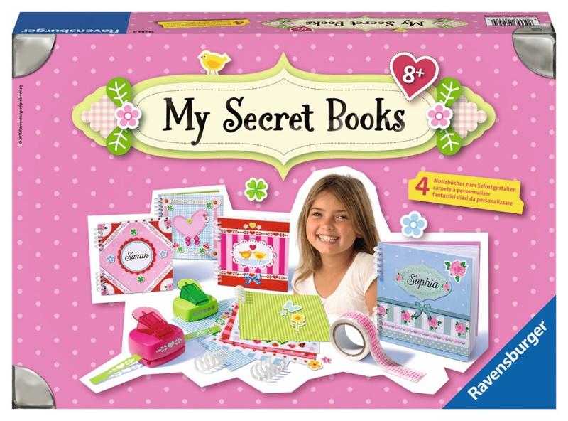 Ravensburger My Secret Books zum Selbstgestalten