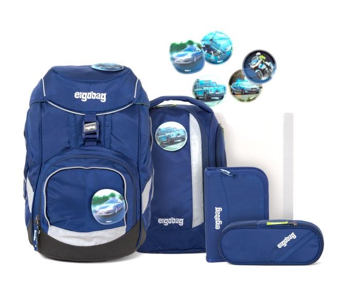 Ergobag Pack Schulrucksack-Set BlaulichtBär