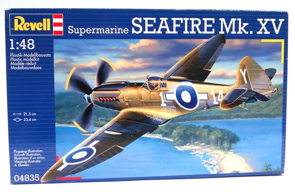 Revell 04835 Supermarine Seafire Mk.XV 1:48