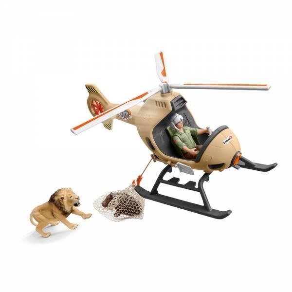 Schleich Wild Life Helikopter Tierrettung 42476