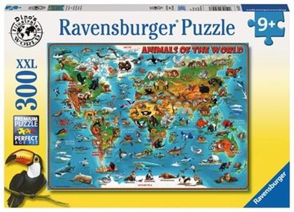 Ravensburger Puzzle Tiere rund um die Welt