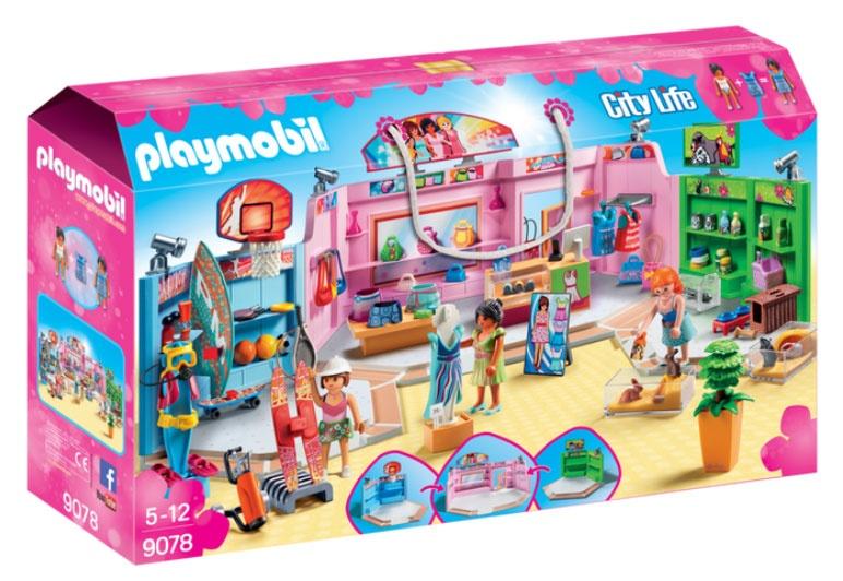 Playmobil 9078 City Life Einkaufspassage