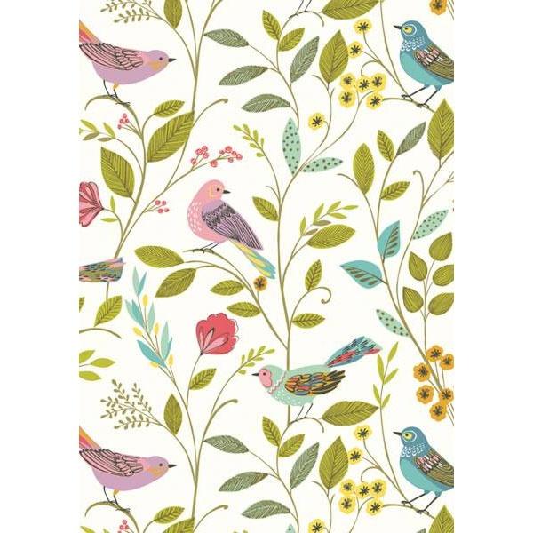 Geschenkpapier Amarillo (Vögel)