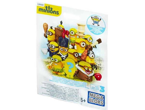 Minions Blindbag Sammeltüte Mega Bloks