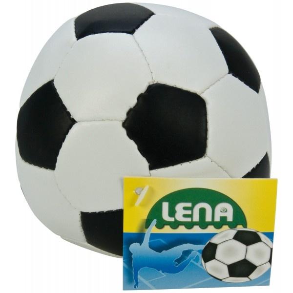 Soft-Fusßball  10cm schwarz/weiß