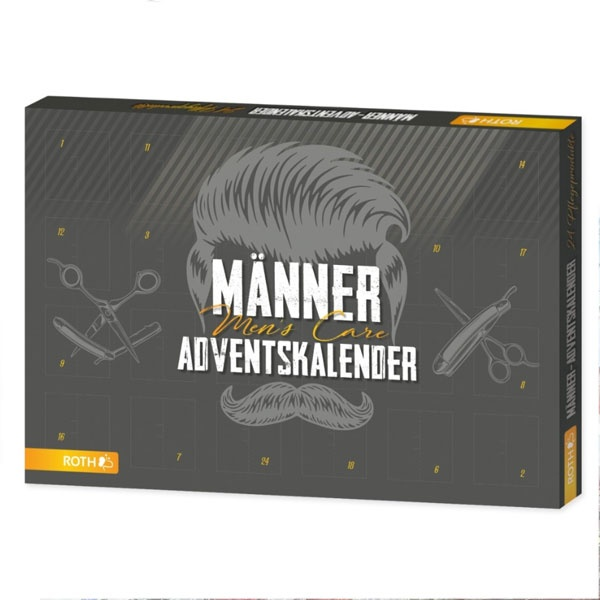 Roth Adventskalender Mens Care Hipster