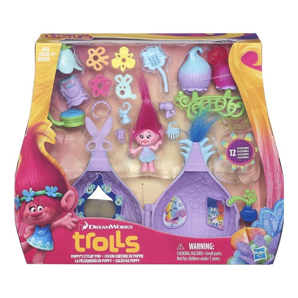Trolls Trollstadt Poppys Haarsalon