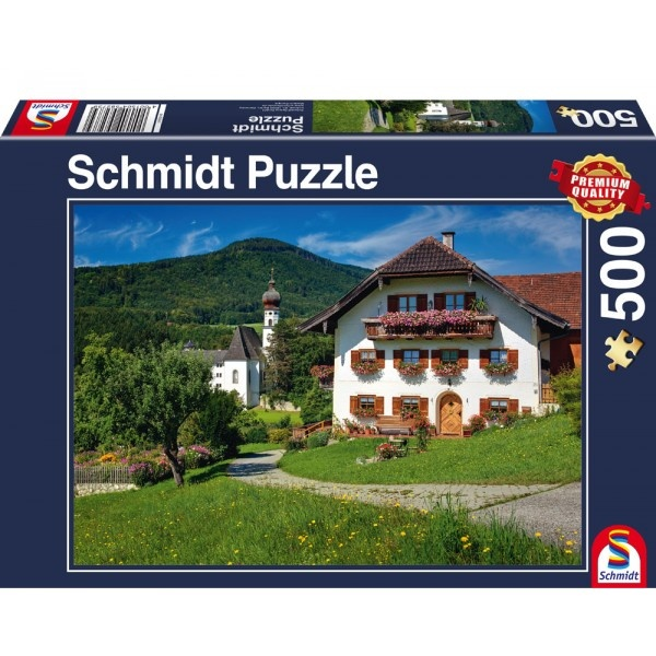 Schmidt Spiele Puzzle Ferien am Kloster Höglwörth 500 Teile