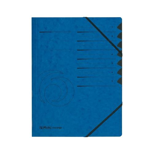 Ordungsmappe Colorspan 1-7 blau