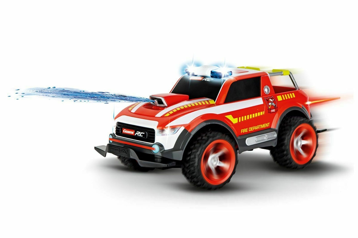 Carrera RC Fire Fighter Watergun Feuerwehr Wasserpistole
