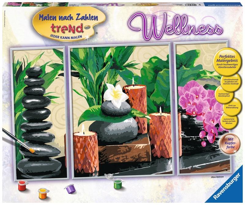 Ravensburger Malen nach Zahlen Trend Wellness