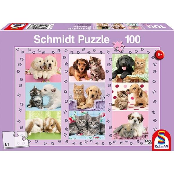 Schmidt Spiele Puzzle Meine Tierfreunde 100 Teile