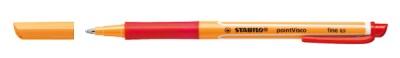 Stabilo Gelschreiber pointVisco 0,5mm rot