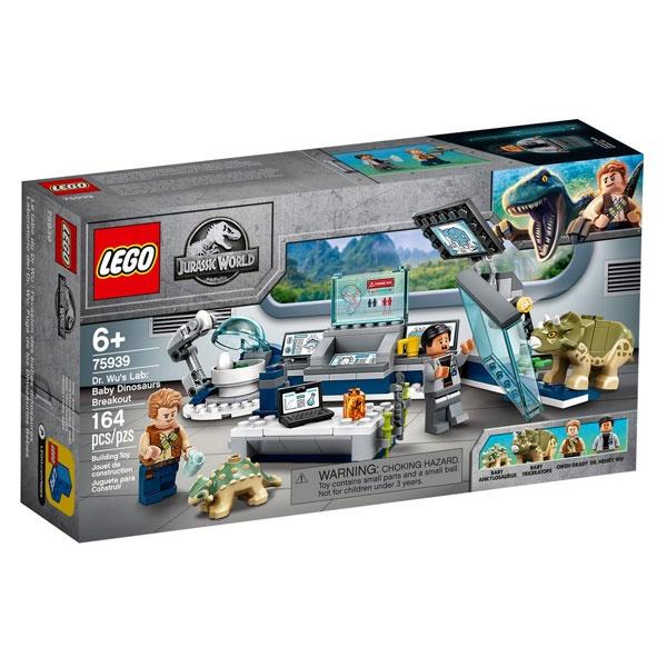 Lego Jurassic World 75939 Dr. Wus Labor: Ausbruch der Baby-D
