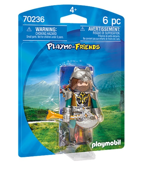 Playmobil 70236 Playmo-Friends Wolfskrieger