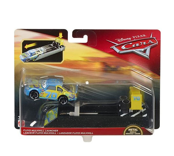 Cars 3 Launcher Floyd Mulvihill